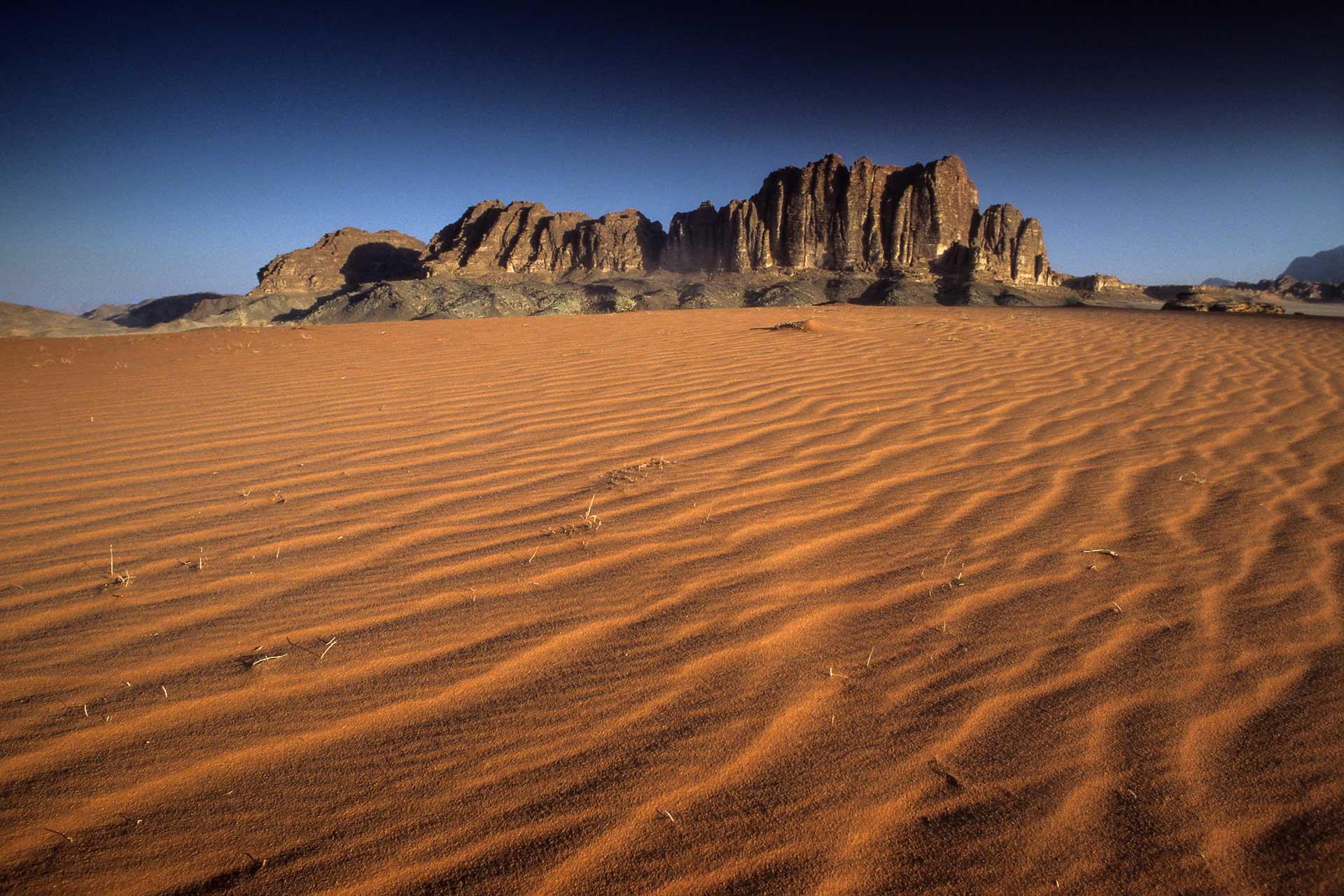 Vadi Rum Wüste Jordanien