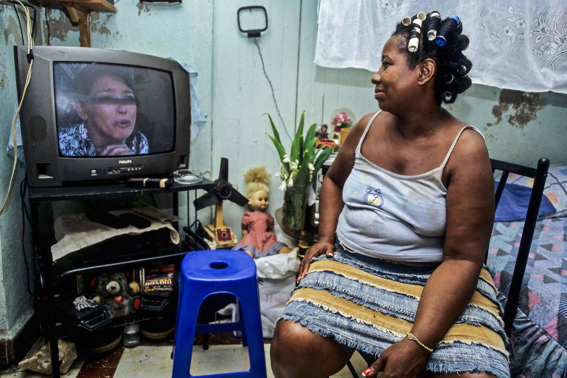 Kubanische Frau