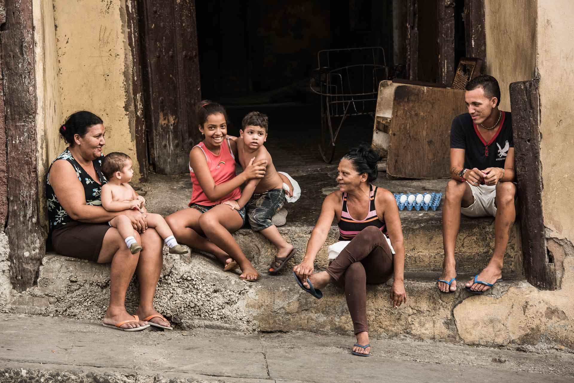 Kubanische Familie