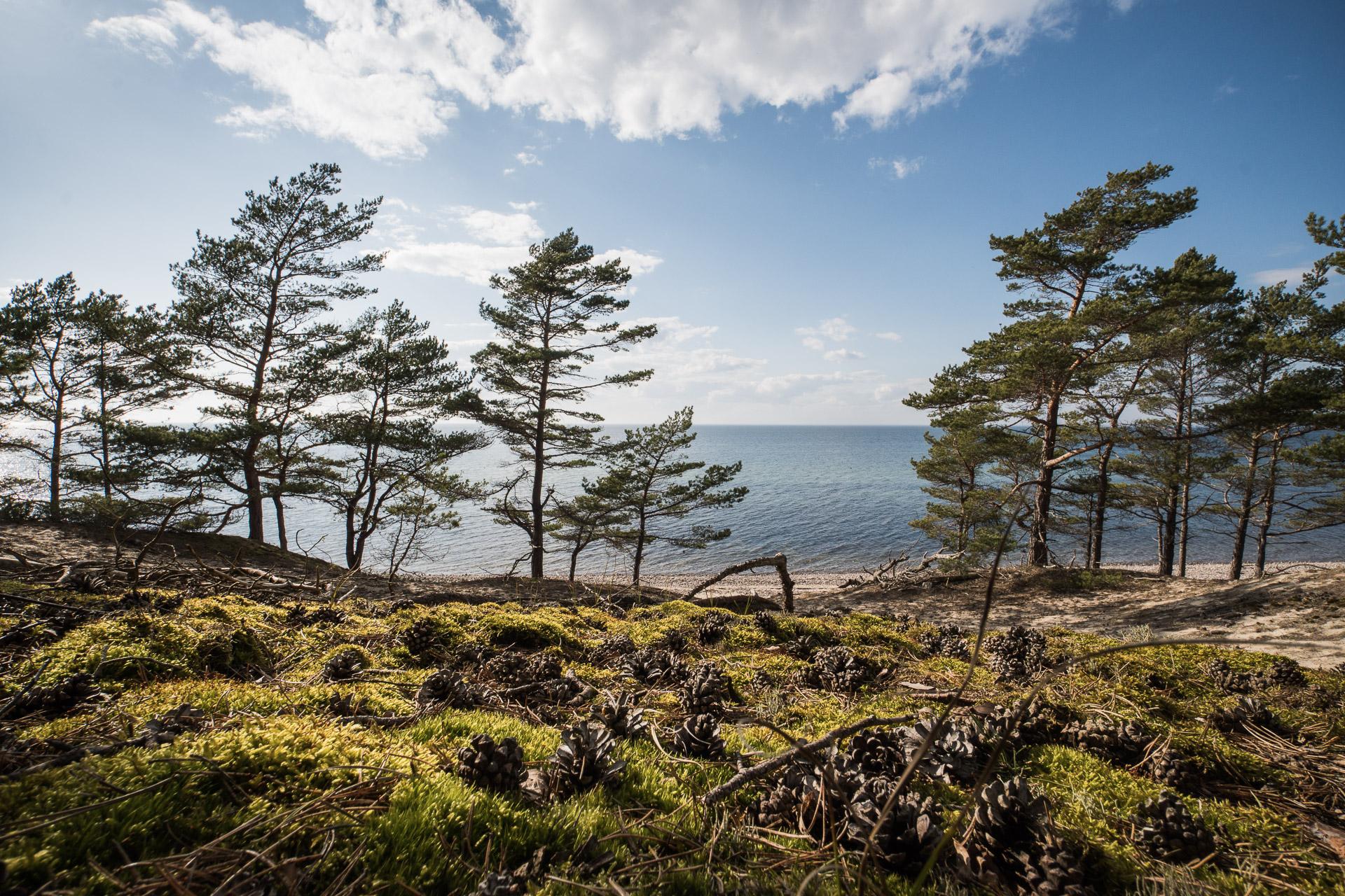 Am Vätternsee in Schweden