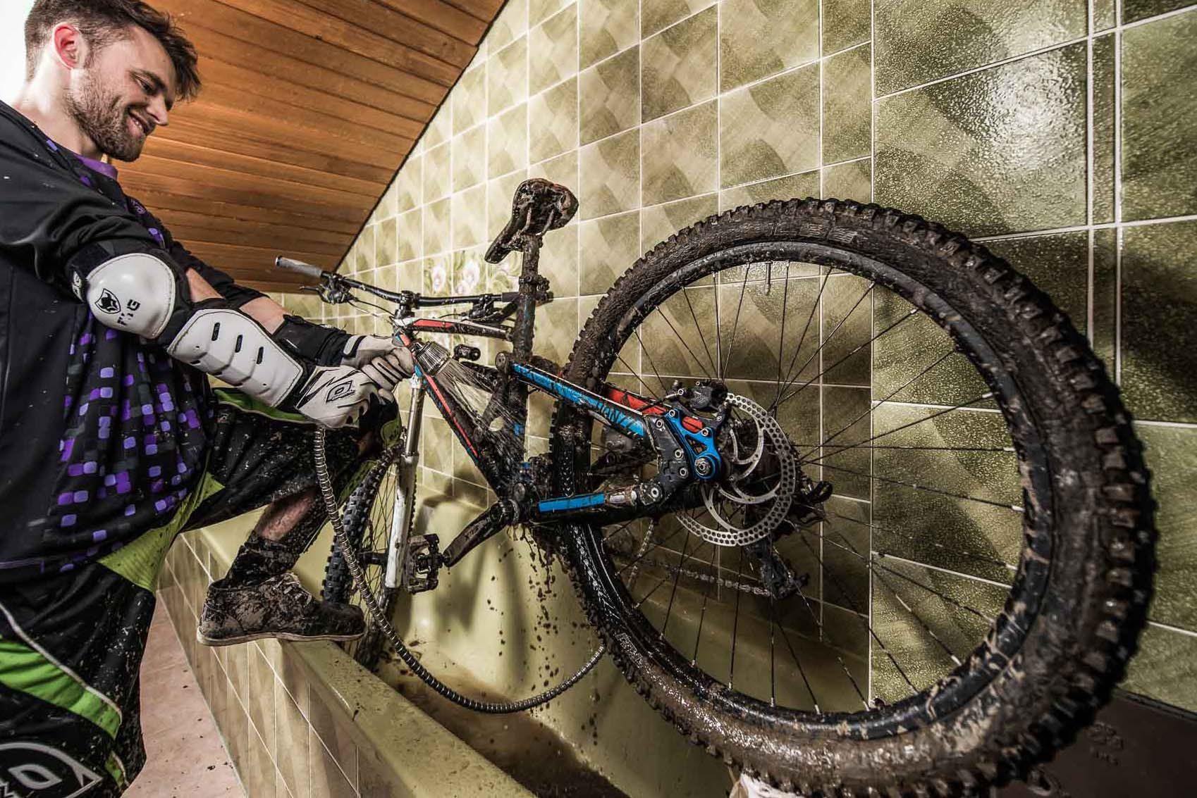 Fahrradwäsche